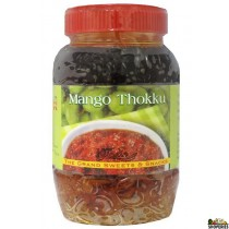 GRAND SWEETS MANGO THOKKU 14OZ