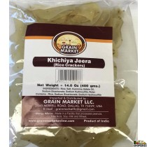 Grain Market Khichiya Plain (Rice Crackers) - 400g
