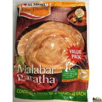 Sumeru Frozen Malabar Parotta 30 Pcs value pack