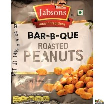 Jabsons Bar-B-Que Roasted  Peanuts 140g (2 Count)