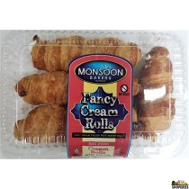 Monsoon Bakery Fancy Cream Rolls - 6oz