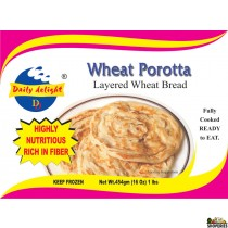 Daily Delight Wheat Parotta - 1 lb