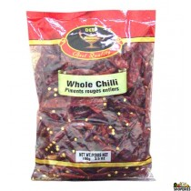 Dry Whole Chilli - 7 oz