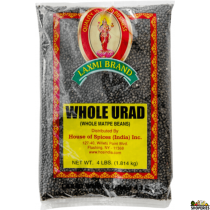 Black Urad Dal Whole - 4 LB
