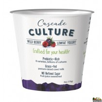 Cascade Culture Wild berry lowfat Yogurt - 6 Oz (pre-order)