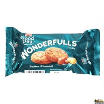 Britannia Good Day Wonderfulls Butter-Almond Biscuits - 75g