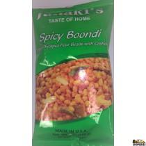 Janaki Spicy Boondi 7 oz