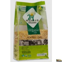 ORGANIC YELLOW  MOONG DAL SPLIT - 2 lb
