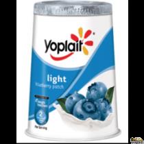 Yoplait lowfat blueberry yogurt 3.5 oz