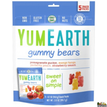 Yum Earth Organic Gummy Bear - 8.5 Oz