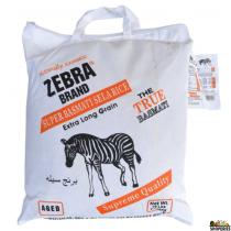 Zebra Super Sella Parboiled Basmati Rice - 10 lb