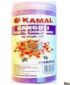 Kamal Rangoli Purple Color - 400 Gm