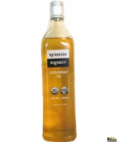 Bytewise Organic Peanut / Groundnut Oil - 650 Ml