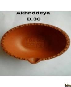 Clay Diya - No 2 (6 Pcs)