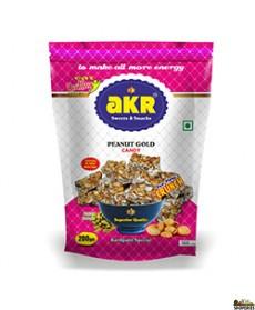 Akr Kovil Patti Elaichi Peanut Gold Chikki - 200g