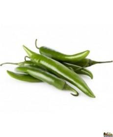 Serrano Chilli- 0.5 Lb