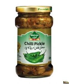 Mehran Green Chilli Pickle - 340g