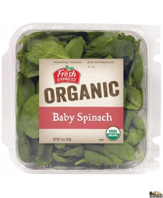 USDA Organic Baby Spinach - 11 Oz
