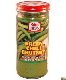 Nirav Green Chilli Chutney 200 Gms
