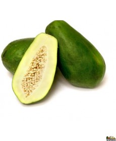Green Papaya (unripe) - 1 Count  (2.5 lb approximate