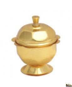 Brass Kumkum Holder