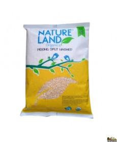 Nature Land  Organic Yellow Moong Dal  - 2 Lb