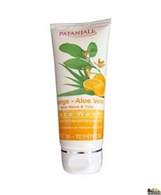 Patanjali Orange peel & Aloe veraFace Wash 60g