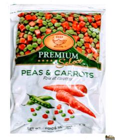 Green Peas and Carrots (Frozen) - 2 lb