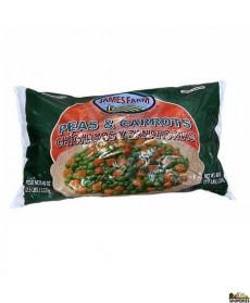 James Farms Green Peas And Carrots (frozen) - 2.5 Lb