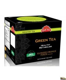 Quik Tea - Organic Green Tea 3.52 Oz