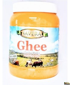 Savera Pure Desi Ghee - 56 Oz
