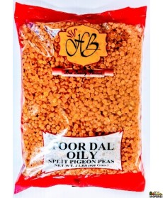 Toor Dal Oily - 2 lb