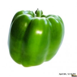 Bell Pepper Green Large - 2 count