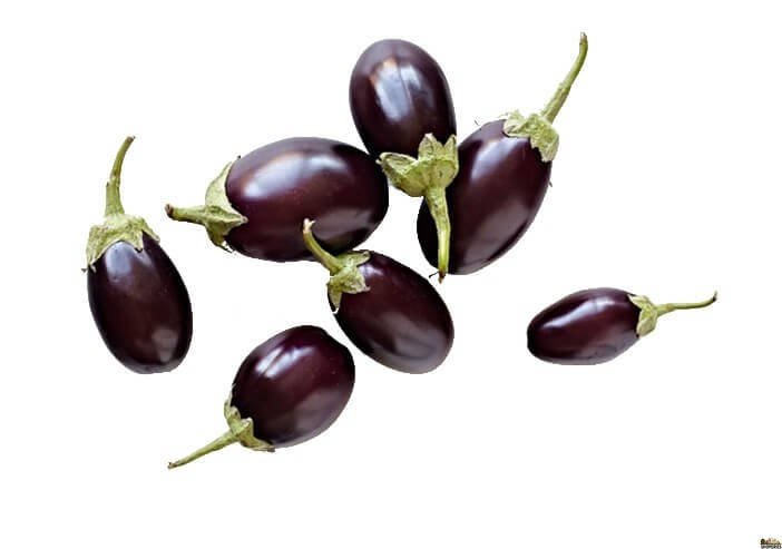 Small Indian Baby eggplant / Brinjal - 1 lb