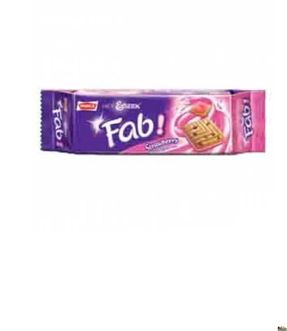Parle Hide & Seek Fab cracker strawberry biscuits - 112g