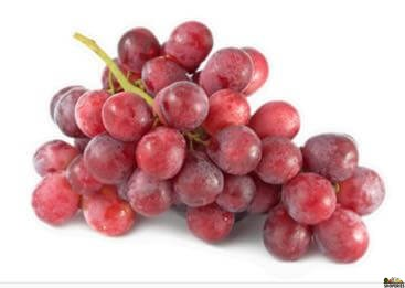 Red Seedless Grapes  1.5 lb (aproximate)