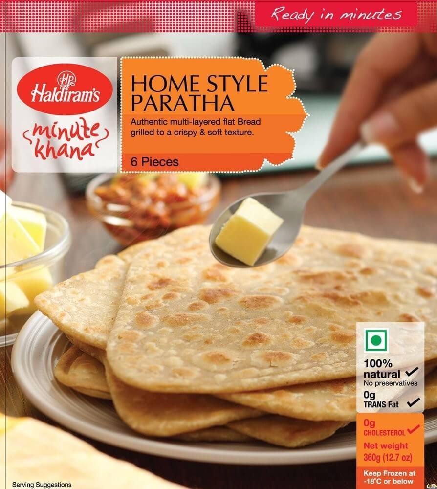 Haldirams Homesytle Paratha Value Pack- 1.2 kg