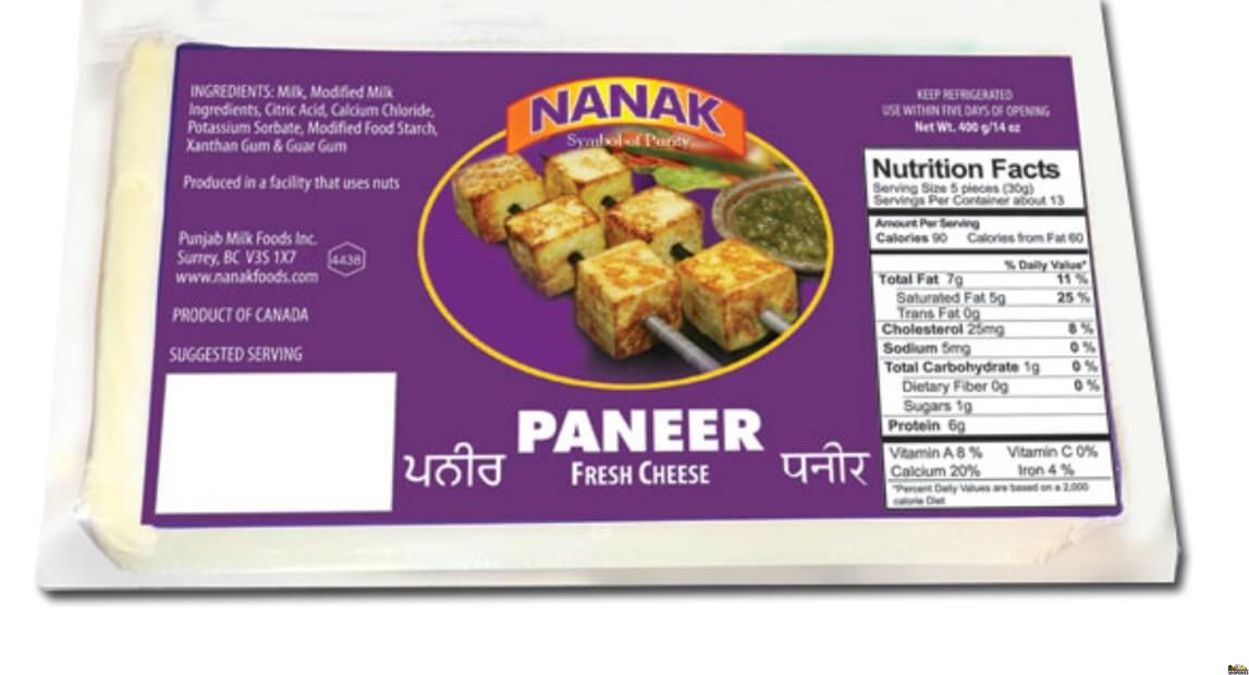 Nanak Paneer Indian cheese - 14 oz