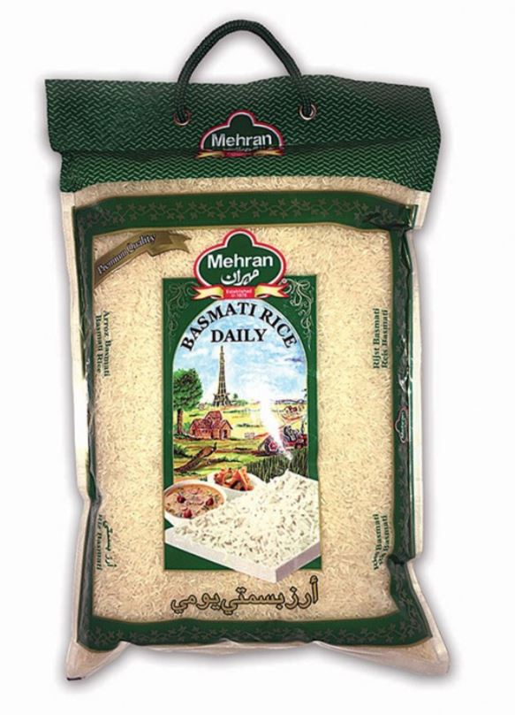 Mehran Basmati Kernel Rice - 10 lb
