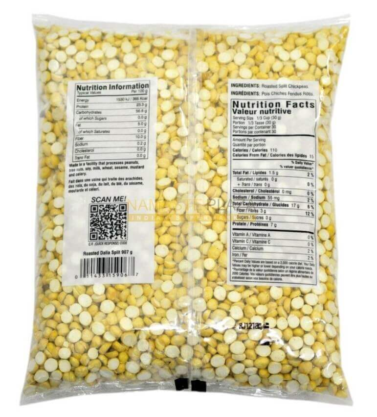 Roasted Chana Dalia Split - 2 lb