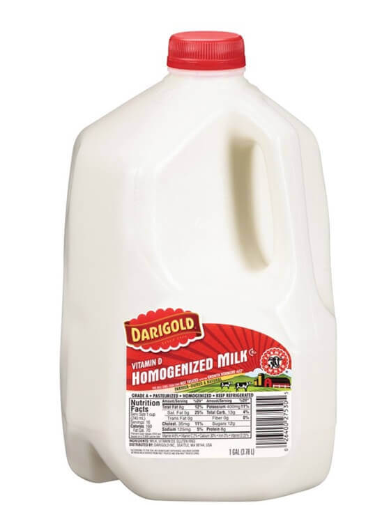 Darigold whole Milk - 1 gal