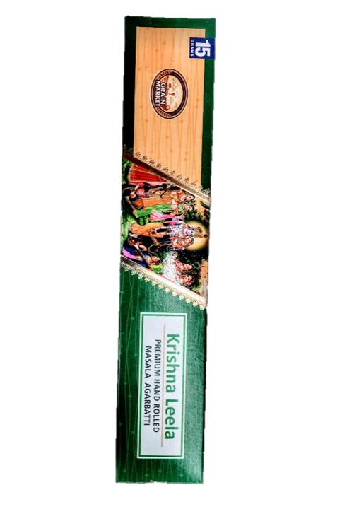 Grain Market Krishna Leela Agarbatti - 15g