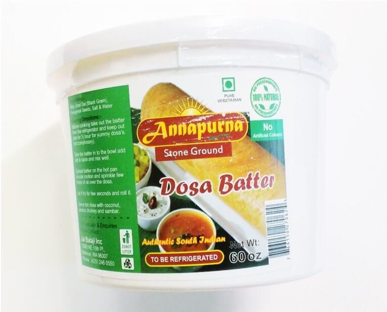Annapurna Dosa Batter - 32 Oz