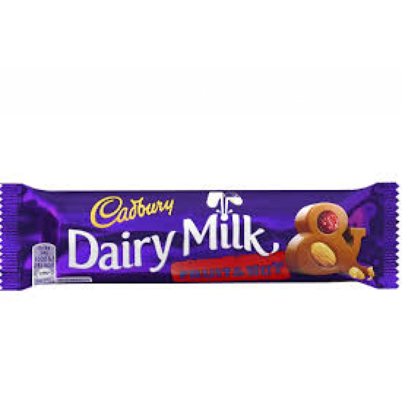 Cadbury Fruit and nut Chocolate bar - 45g