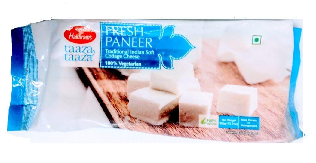 Haldirams Paneer Cubes (Frozen) 7 Oz