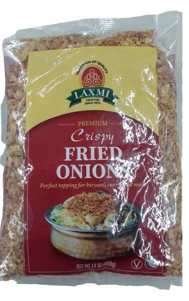 Laxmi Fried Onions 14 oz
