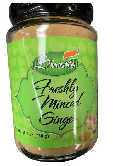 Siva Freshly minced Ginger Paste - 750 gm