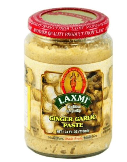 Laxmi Ginger Garlic Paste - 24 oz