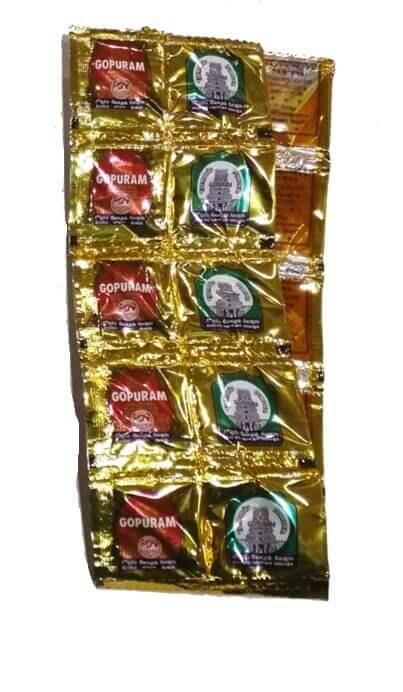 Haldi Kumkum Combo Pack, Pack of 25