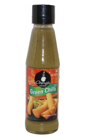 Chings Green Chilli Sauce 190 Gms